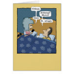 Funny birthday card: Nature Calls Greeting Card