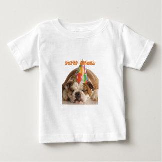 Funny Bulldog Gifts-Party Animal Sleeping Bulldog Tshirt
