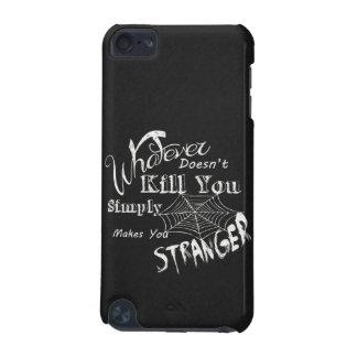 Funny Chalk Art... Stranger iPod Touch 5G Cases