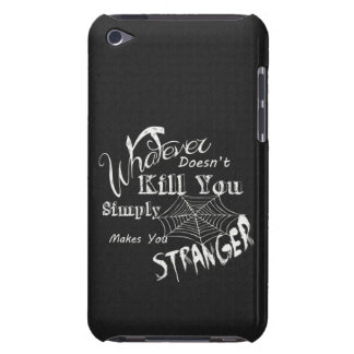 Funny Chalk Art... Stranger iPod Touch Cover