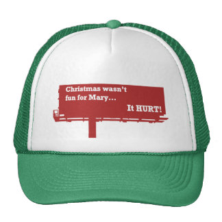 Funny Christmas Billboard hat