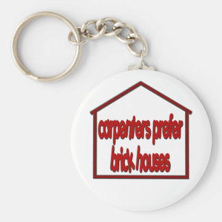 Funny Crude Keychain for Carpenters