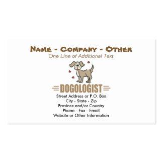 Funny Dog Lover Pack Of Standard Business Cards