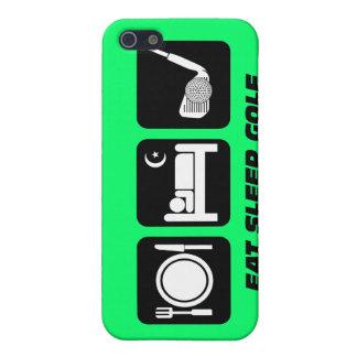 funny eat sleep golf iPhone 5/5S case
