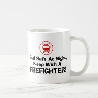 Funny Firefighter Basic White Mug
