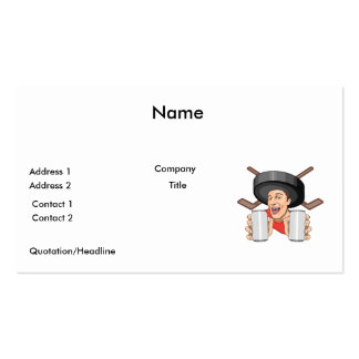 funny hockey fan pack of standard business cards