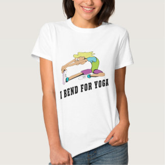 Funny I Bend For Yoga Women T-Shirt