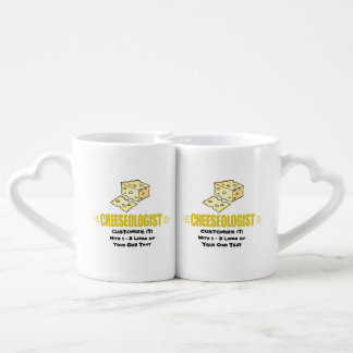 Funny I Love Cheese Lovers Mug