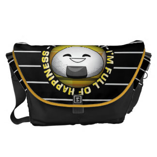 Funny Japanese Riceball Messenger Bags