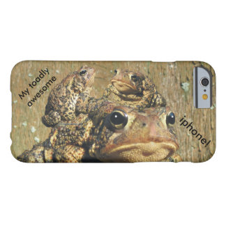 Funny My toadly awesome iphone Barely There iPhone 6 Case