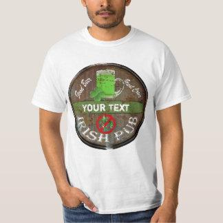Funny Personalized Irish pub sign Tshirt