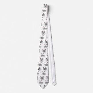 Funny President Trump When Pigs Fly Cartoon Tie
