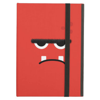 Funny Red Monster Face Cover For iPad Air