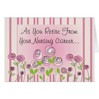 Funny Retired Nurse Greeting Card