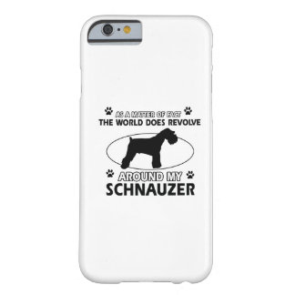 funny SCHNAUZER designs Barely There iPhone 6 Case