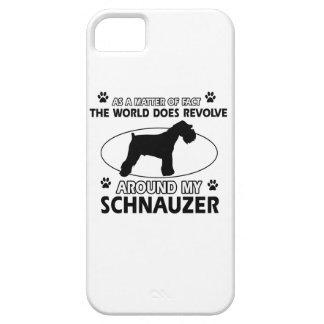 funny SCHNAUZER designs iPhone 5 Cases