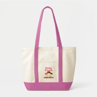 Funny Swim Coach Impulse Tote Bag
