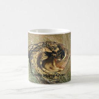 Funny Toadly Hung Over Basic White Mug