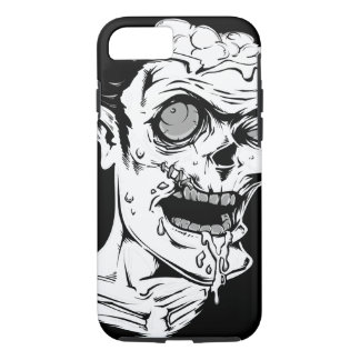 Funny Zombie Horror Face - Cool and Unique iPhone 7 Case
