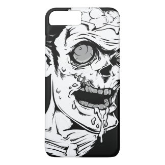 Funny Zombie Horror Face - Cool and Unique iPhone 7 Plus Case
