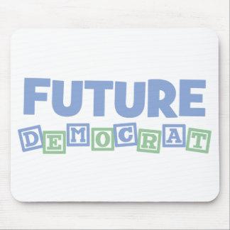 Future Democrat Blocks Mouse Pad