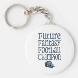 Future Fantasy Football Champ Basic Round Button Key Ring