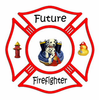 Future Firefighter Photo Sculpture Decoration