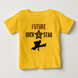 Future Rock Star for Baby Tshirt