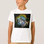 Galaxy Cat Universe Kitten Launch T-shirts