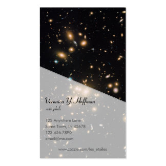 Galaxy Cluster and Gravitational Lens Abell 1689 Pack Of Standard Business Cards