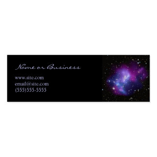 Galaxy Cluster Profile Card Pack Of Skinny Business Cards