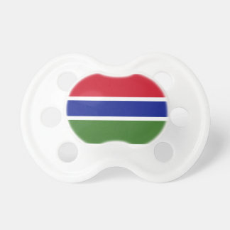 Gambia Flag Pacifiers