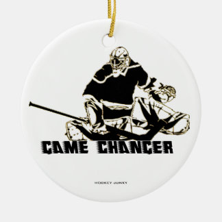 GAME CHANGER ROUND CERAMIC DECORATION