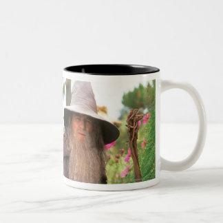 Gandalf with Hat Two-Tone Mug