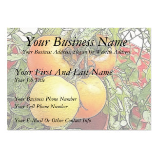 Garden Fresh Heirloom Tomatoes Pack Of Chubby Business Cards