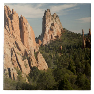 Garden of the Gods Historic Site Large Square Tile