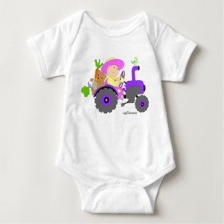 Gardener Farmer baby girl Tshirt