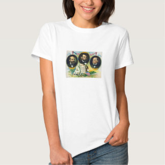 Garfield, Lincoln, and McKinley -- In Memoriam T-shirts