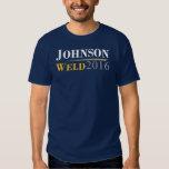 Gary Johnson - Bill Weld 2016 Campaign Logo Tees