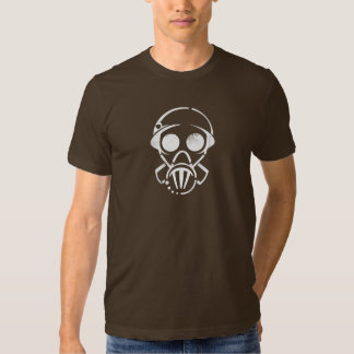 gas mask [men's tee] (dark) shirts