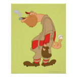 Gashouse Gorillas Pitcher Poster