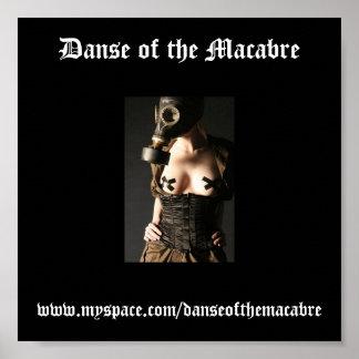 Gasmask-Fashion-Fetish, Danse of the Macabre, w... Poster