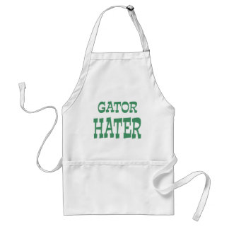 Gator Hater Irish Green design Standard Apron