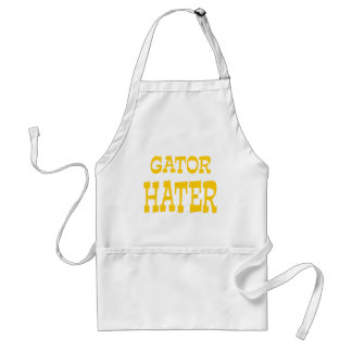 Gator Hater Yellow Gold design Standard Apron