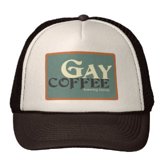 Gay Coffee Trucker Hat