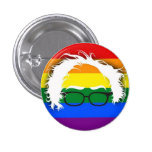 Gay/Lesbian for Bernie Sanders 3 Cm Round Badge
