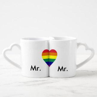 Gay Pride Marriage Lover's Mugs Lovers Mug