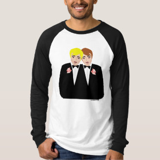 Gay Wedding Groom T-shirts and Apparel