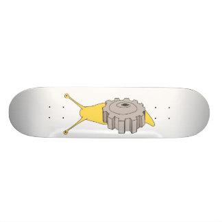 gear snail skateboard deck