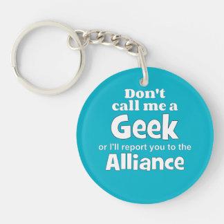 Geek Alliance wf Single-Sided Round Acrylic Key Ring